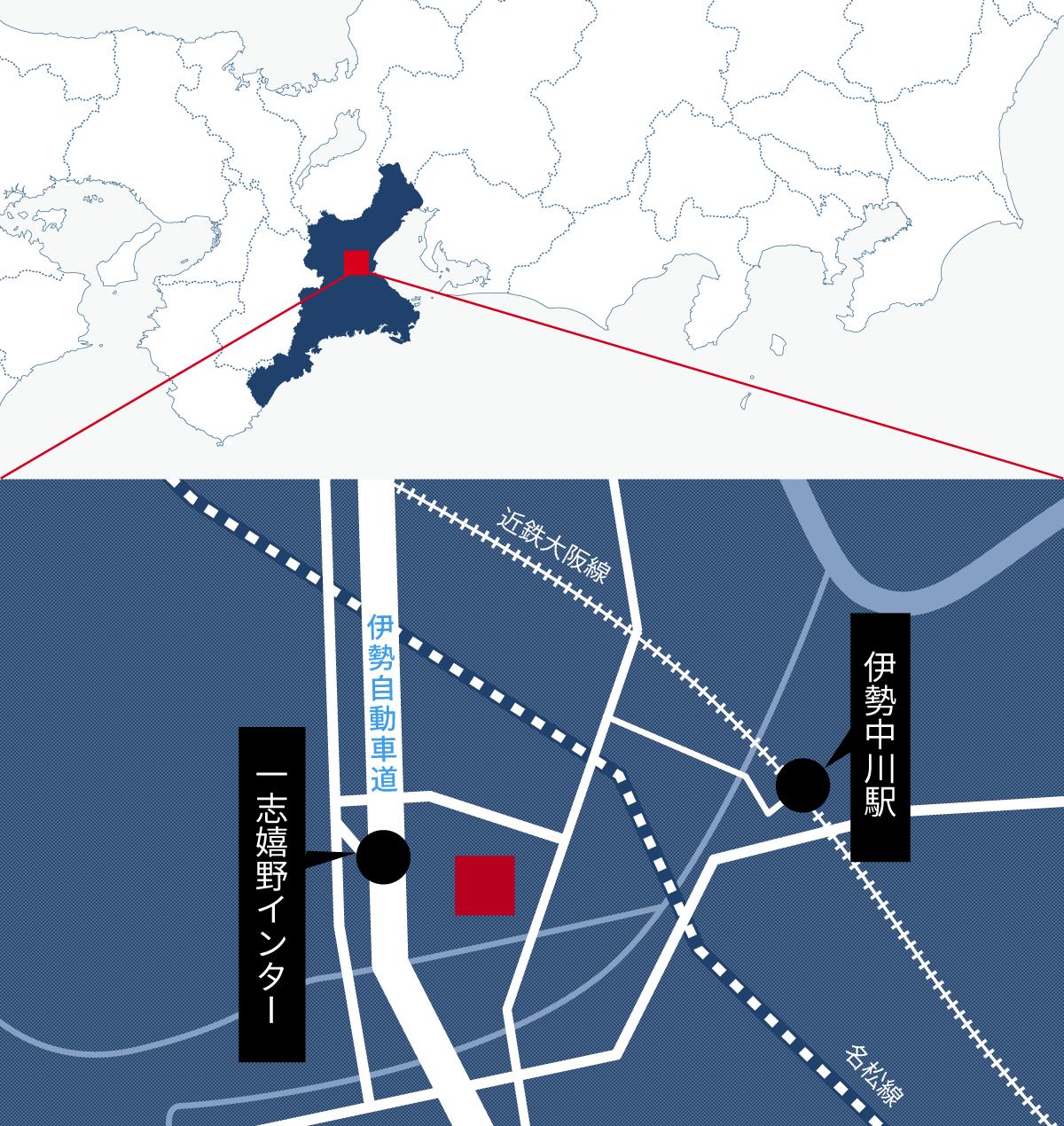 Gestamp Hot Stamping Japan(ゲスタンプ ホットスタンピング ジャパン株式会社)新工場地図